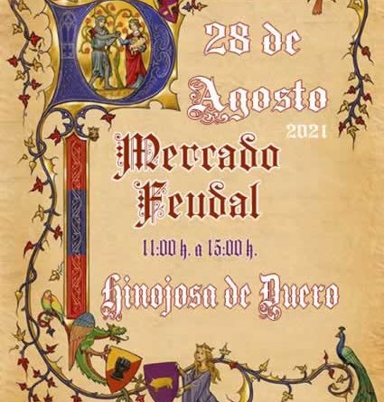X Mercado feudal en Hinojosa de Duero, Salamanca