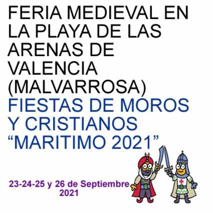 Feria medieval en la playa de las Arenas de Valencia (Malvarrosa) - MundoLarp