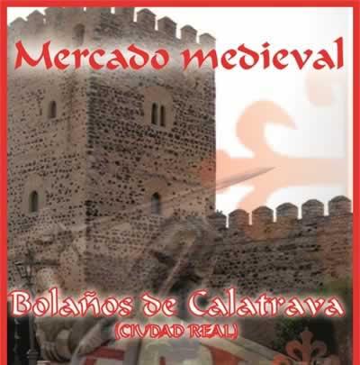 Mercado medieval en Bolaños de Calatrava